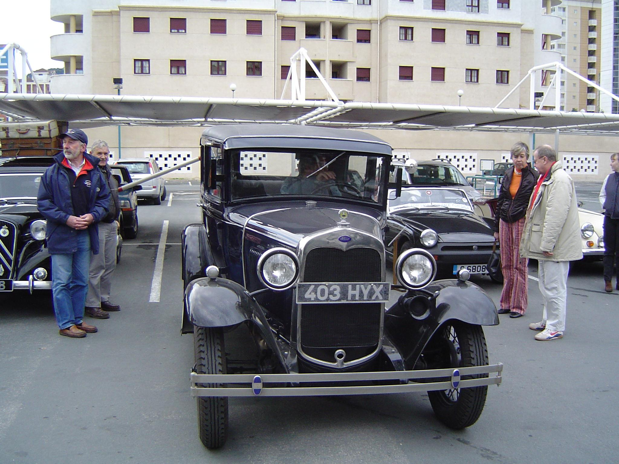 December 2004 Gibraltar Classic Vehicle Association
