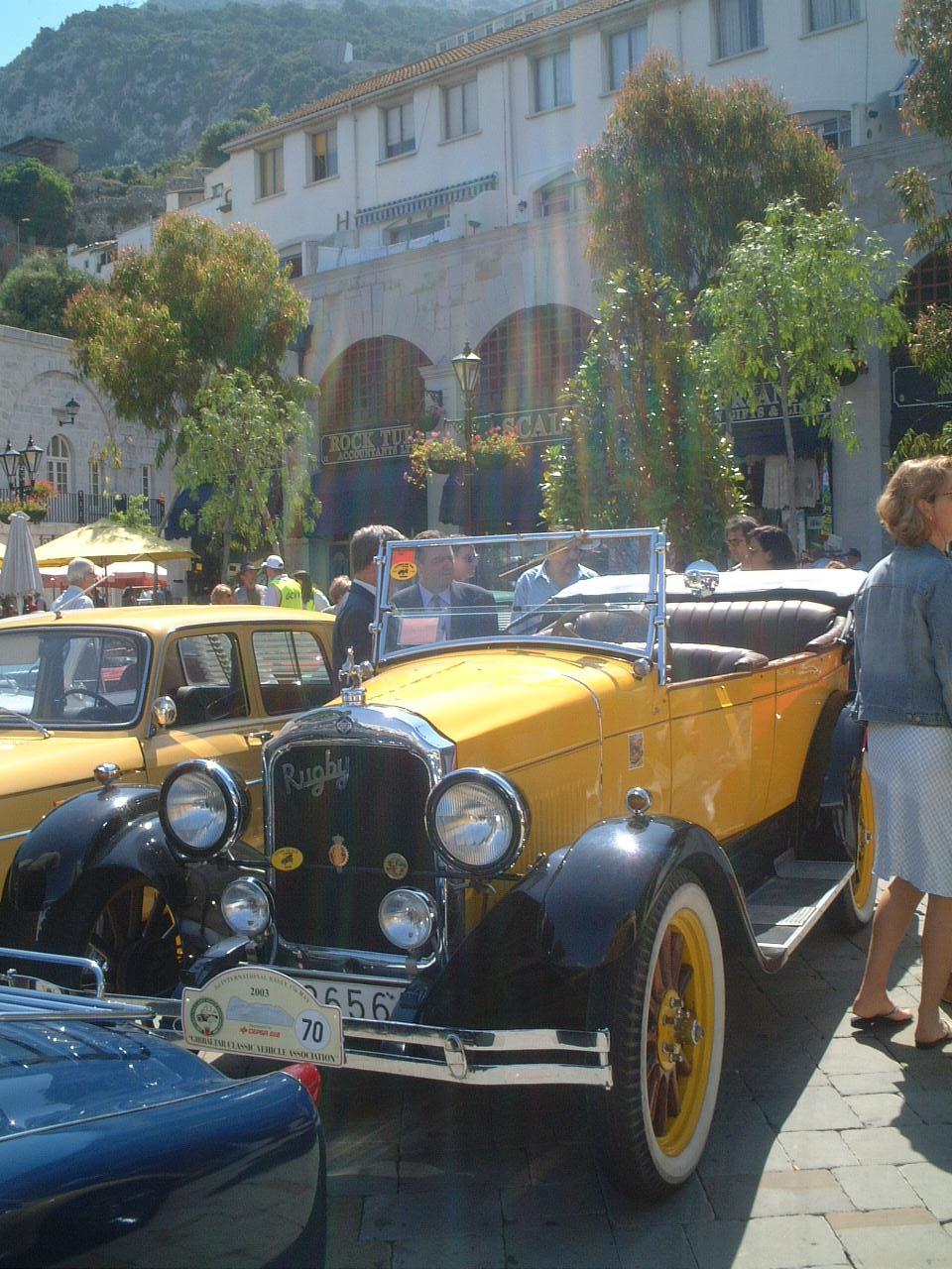 gibraltar classic car rally | Gibraltar Classic Vehicle Association ...