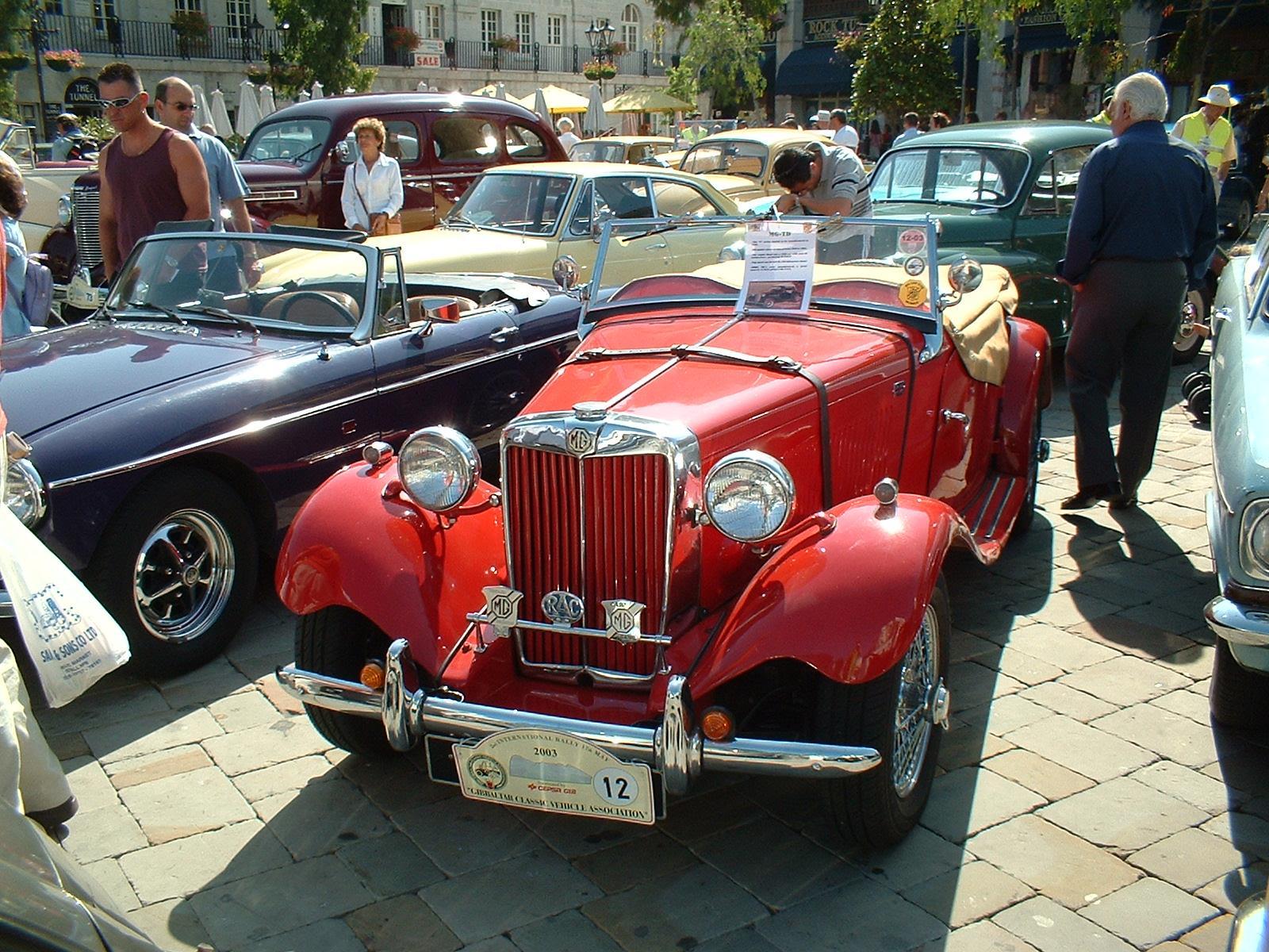 gibraltar classic car rally   Gibraltar Classic Vehicle Association ...