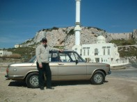 Chris Lavers with his BMW 1502