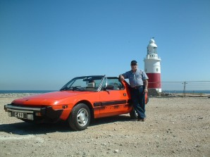 Rafael with his Fiat X19