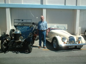 Stefan with his Morris and Morgan