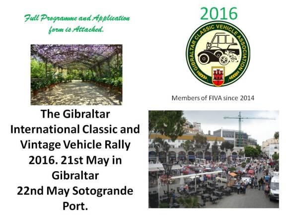 Gibraltar Rally 2016