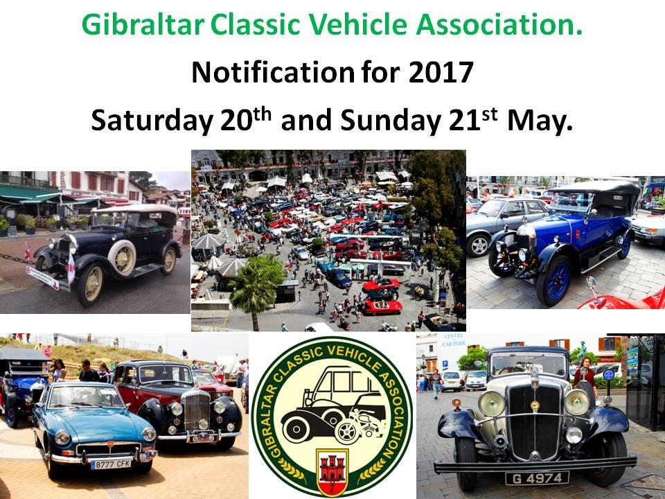 rally 2017 | Gibraltar Classic Vehicle Association