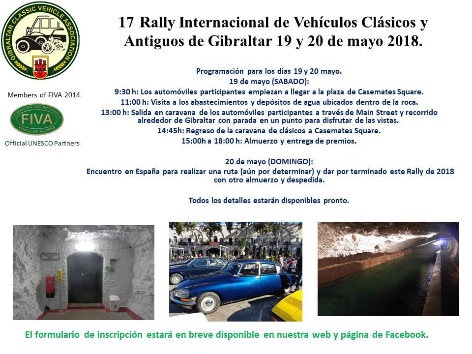 17th Rally in Spanish.